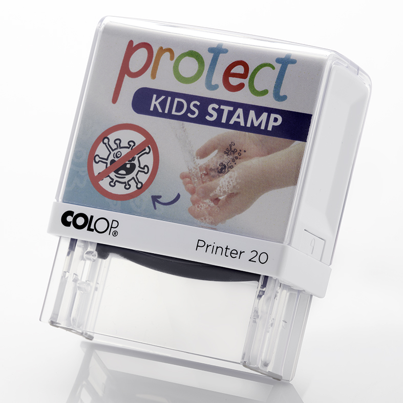 COLOP - PROTECT KIDS STAMP