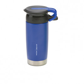 WOW Sports bottle Blue 400ml Stainless steel