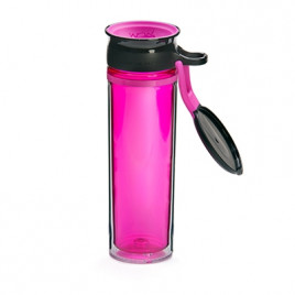 WOW Sports bottle PINK/BLACK 600ml