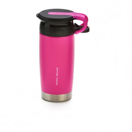 WOW Sports bottle Pink 400ml Stainless steel