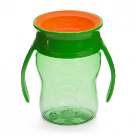 WOW CUP BABY - GRØN TRITAN