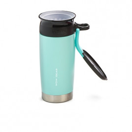 WOW Sports bottle Turquoise 400ml Stainless steel