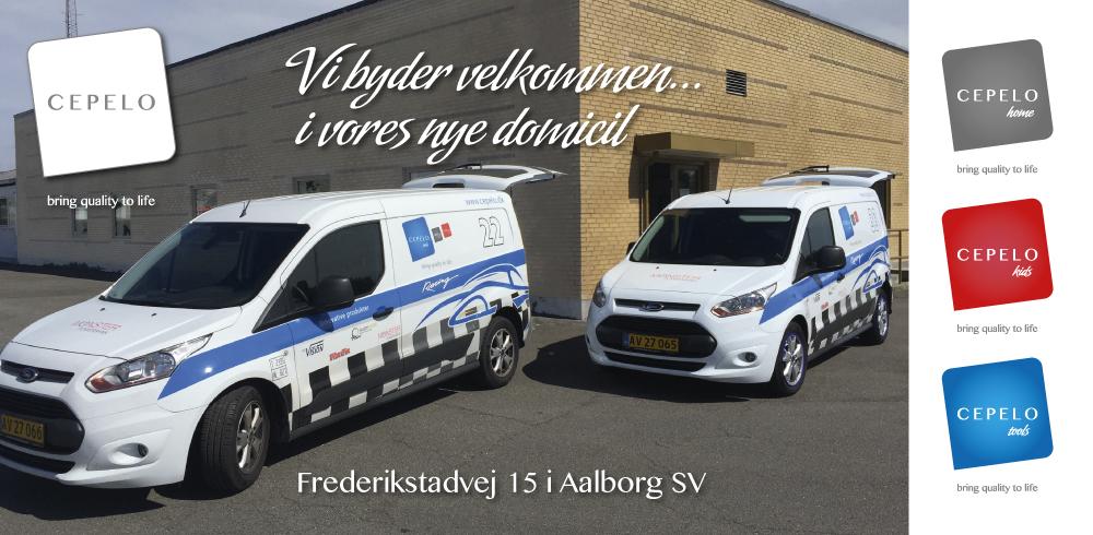 Billede af kontor og firmabiler